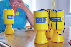Image of Marie Curie collection boxes